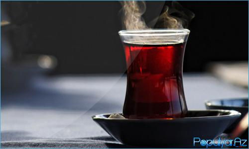 Tünd və qaynar çay içməyin