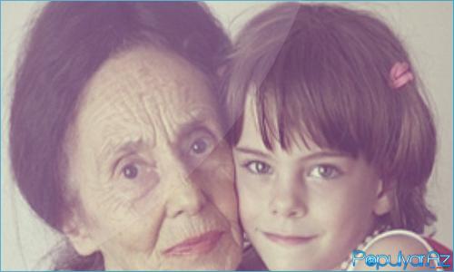 76 yaşlı qadın 9 il əvvəl ilk övladını dünyaya gətirib