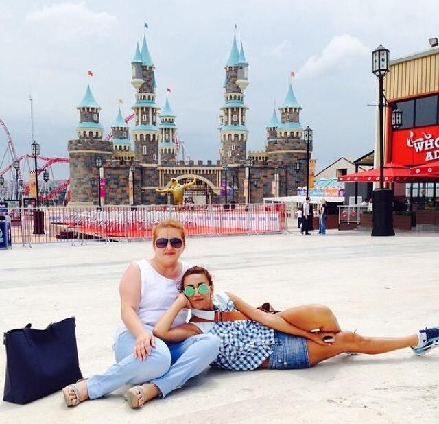 Röya və oğlu