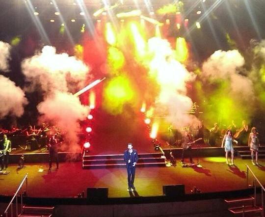 Eminin konsertində baş verənlər – fotolar