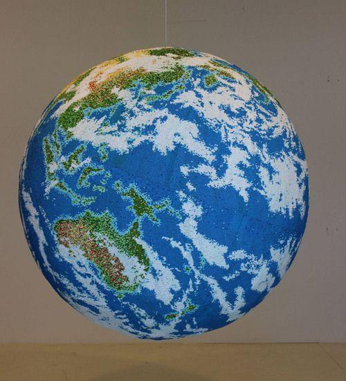 Kibrit çöpü ilə dünya