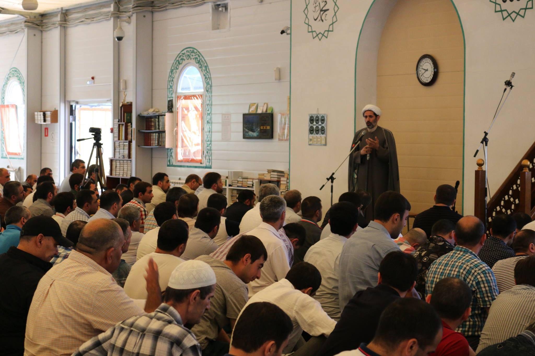 Azeri Sahar Tv | Последователи Ахль аль-Бейта в Москве отметили праздник Рамазан 2014 |