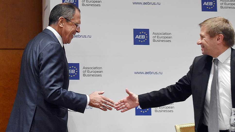 Azeri Sahar Tv | Глава МИД РФ встретился с представителями Ассоциации европейского бизнеса |