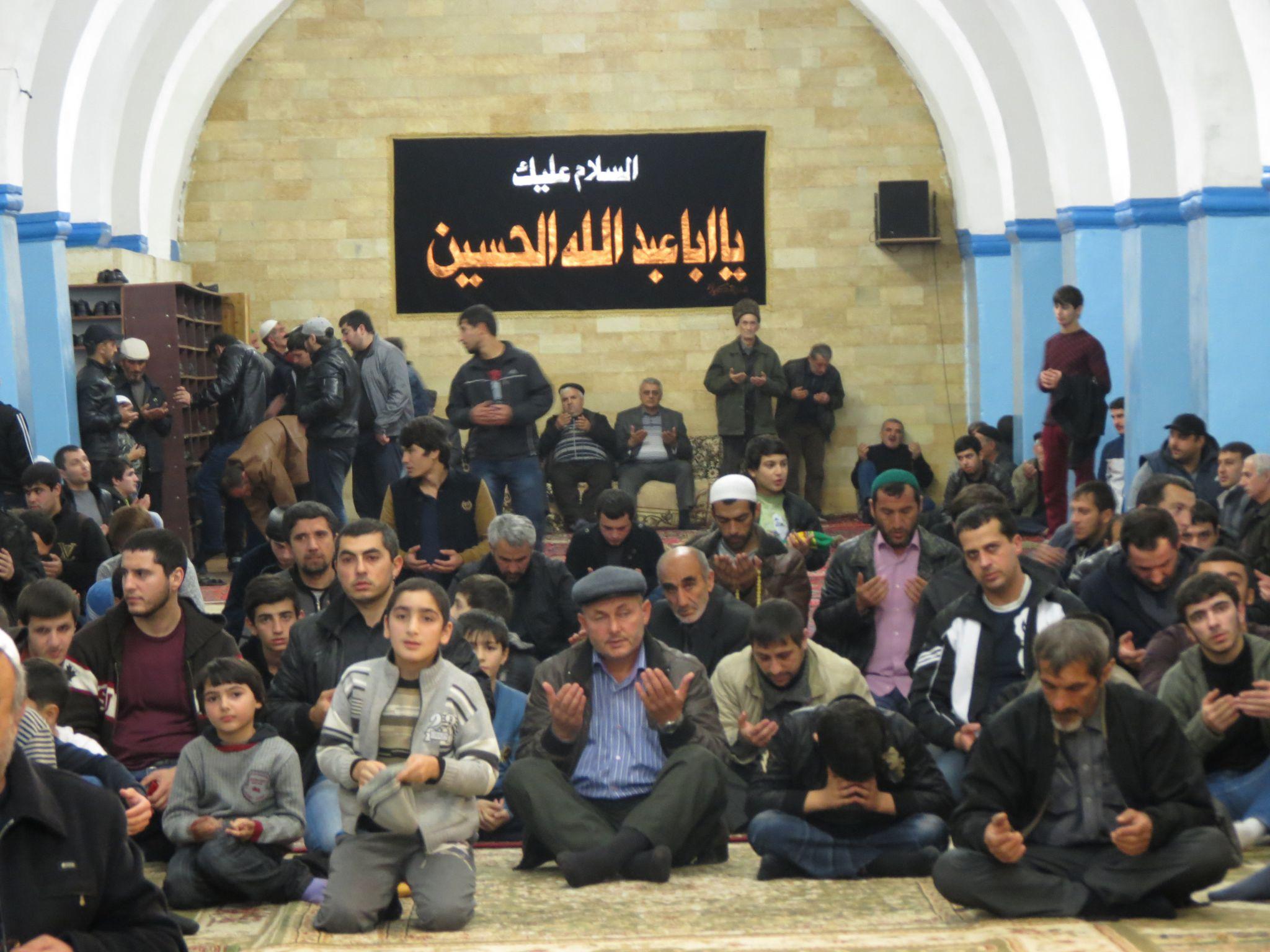 Azeri Sahar Tv | Траурное собрание мухаррама в г.Дербенте |
