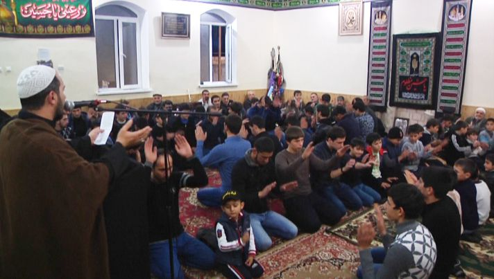 Azeri Sahar Tv | Траурное собрание мухаррама в селах Дербента |