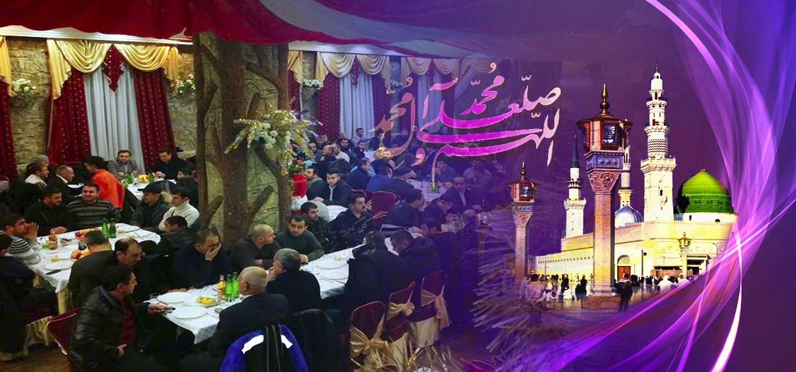 Azeri Sahar Tv | День рождения Пророка Мухаммада (с) в Санкт-Петербурге 2015 |