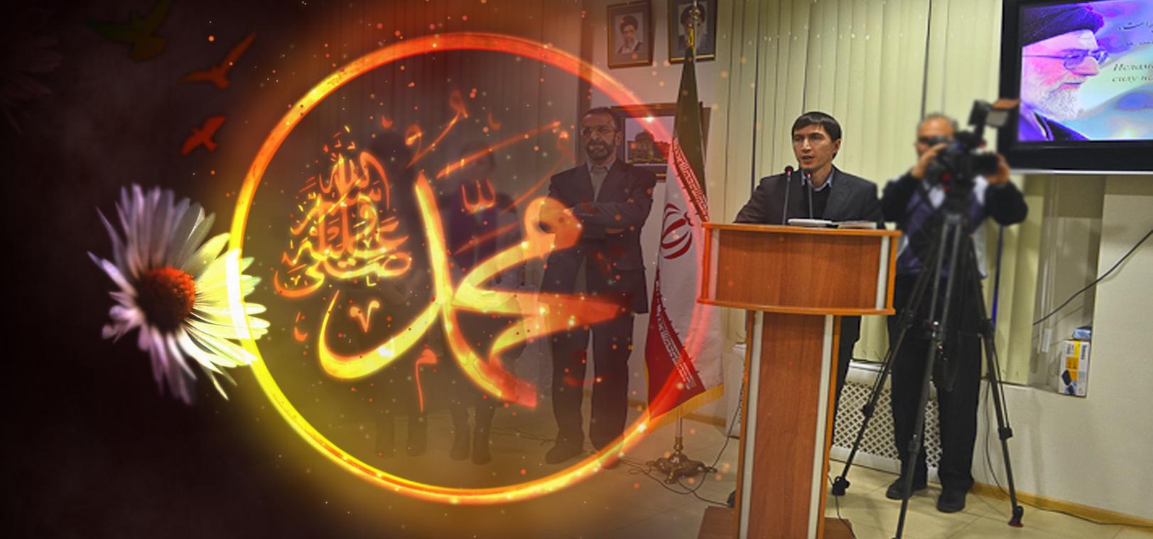 Azeri Sahar Tv | Выставка каллиграфии работ Иранского художника Али Ганджи |