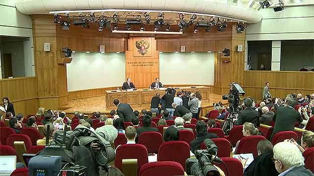 Azeri Sahar Tv | Пресс-конференция Сергея Лаврова по итогам деятельности дипломатии РФ в 2014 году |