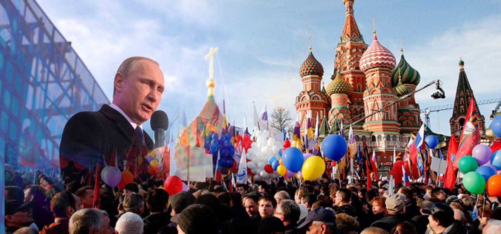 Azeri Sahar Tv | Путин выступил с речью на концерте в честь годовщины присоединения Крыма |