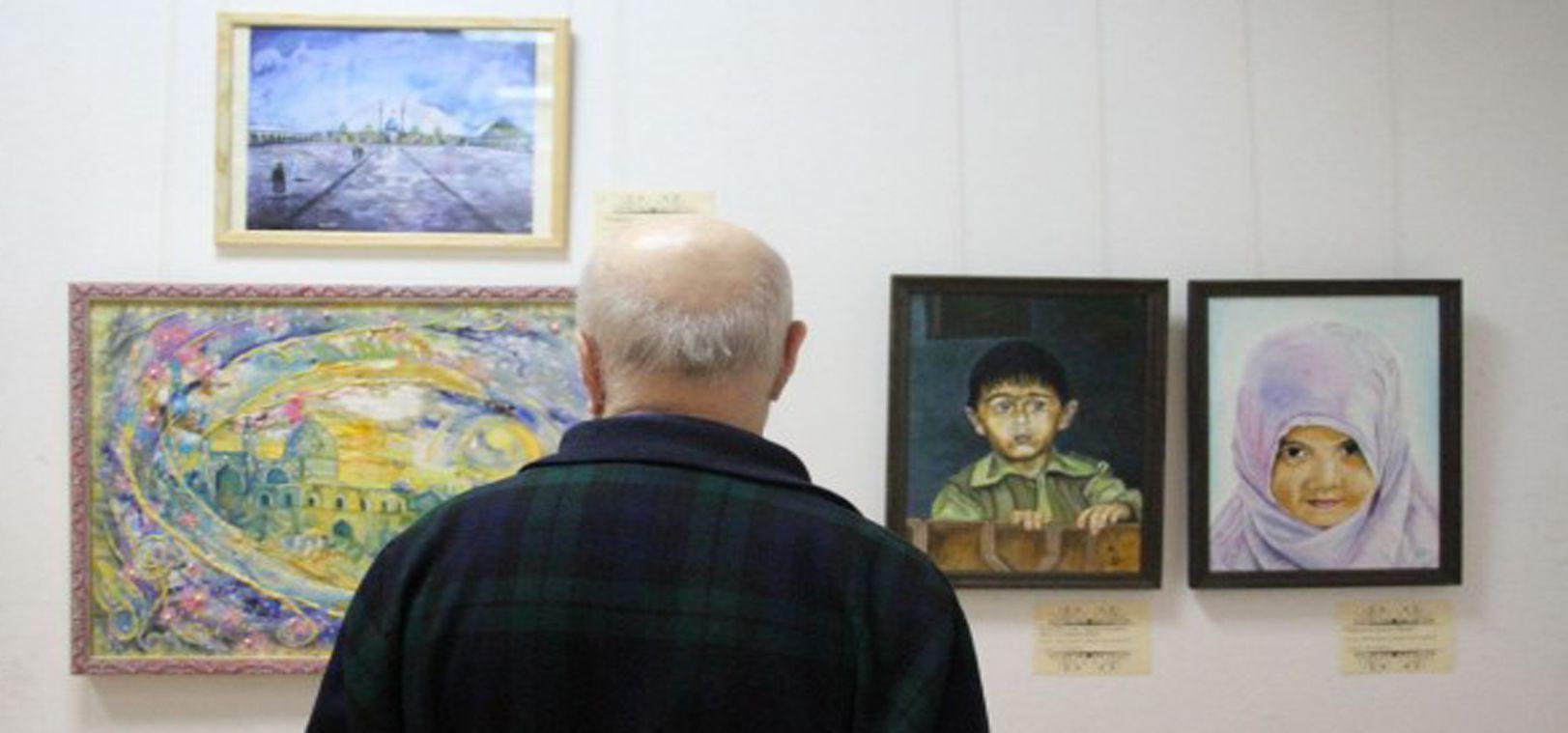 Azeri Sahar Tv | Иран в произведениях российских художников