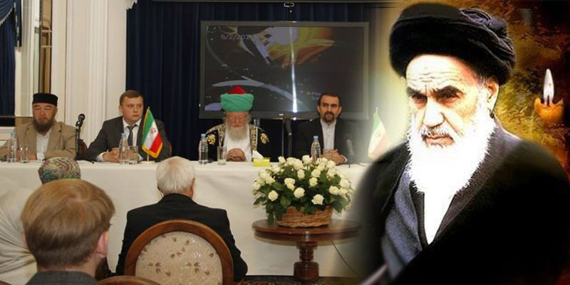 Azeri Sahar Tv | Проведение научно-культурной конференции «Идеи Имама Хомейни |