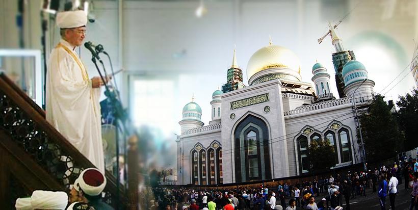 Sahar TV | Ураза байрам в Соборной мечети Москвы. 2015 |