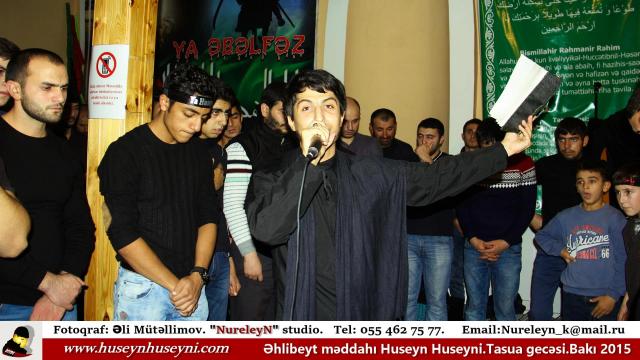 Huseyn Huseyni.Tasua gecəsi.Bakı.2015