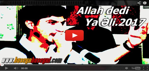 Allah dedi Ya Əli.Çox gözəl əhvalat.Dini toy HD 2017