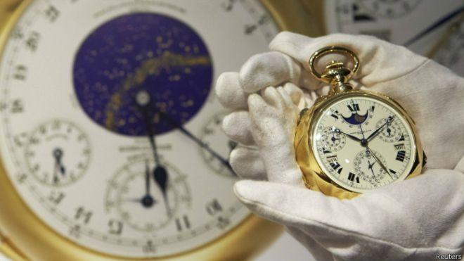 Dünyanın ən bahalı saatı 21,3 mln dollara satılıb