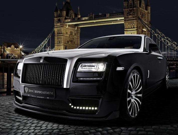 Möhtəşəm Rolls-Royce Ghost