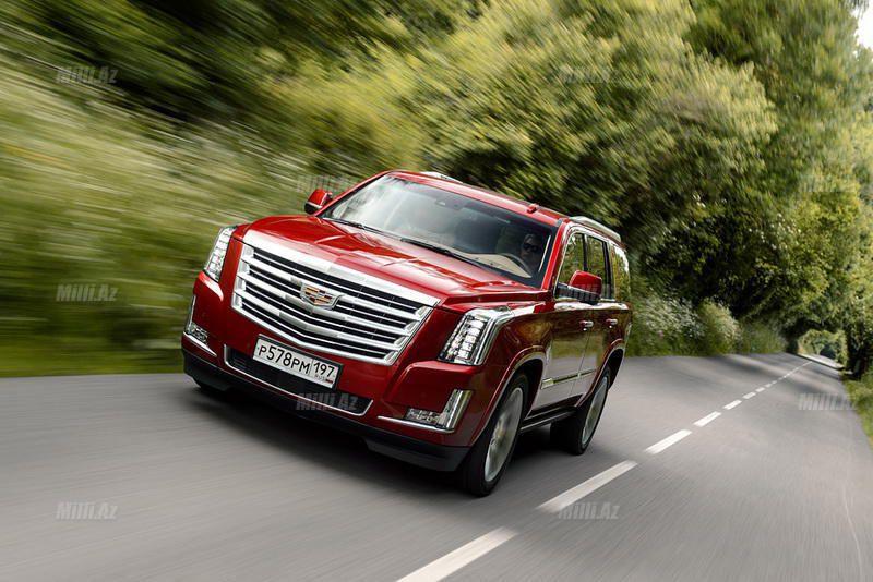 Yeni Cadillac Escalade: təkərli saray