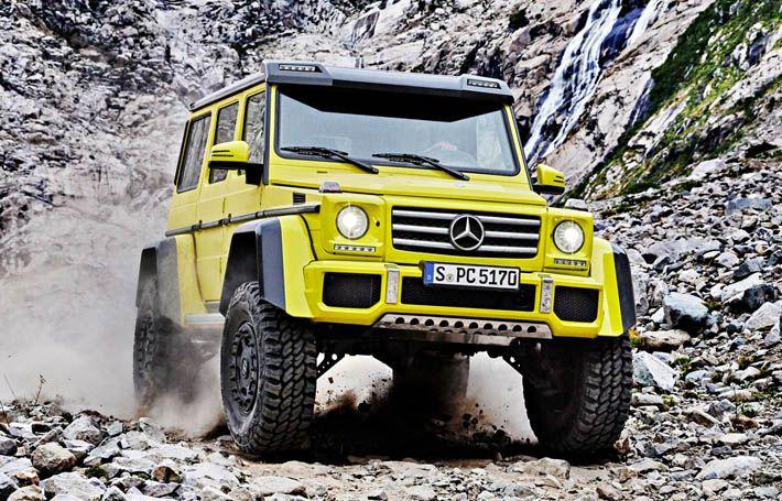 Mercedes G500 4x4 seriyalı versiya alacaq