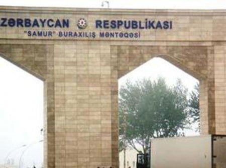 """""""Sınıq körpü"""" və """"Samur"""" gömrük məntəqələrində problem aradan qaldırılıb"""
