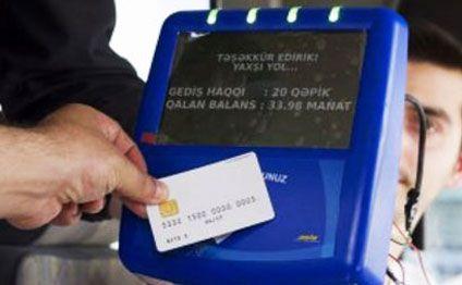 Avtobuslarda kartla ödəniş sistemi başlayır