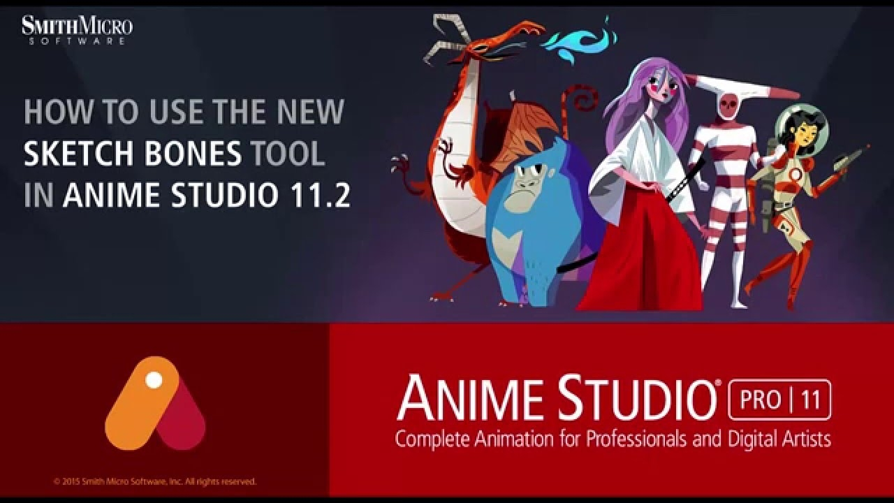 Smith Micro Anime Studio Pro 11.2.1 Build 18868