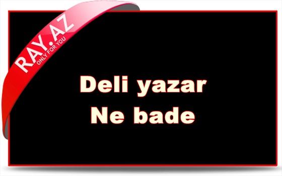 -dəli yazar - nə BaDə