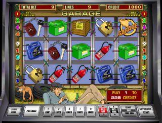 Игровой автомат гараж - играть онлайн