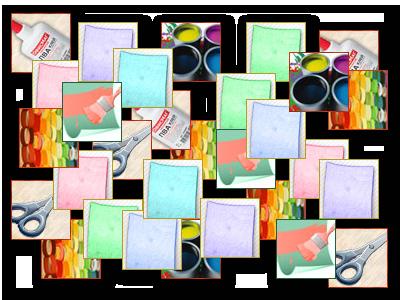 Итоги конкурса по набору бумажных гирлянд