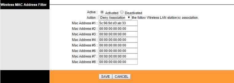TP-Link modemlərdə WiFi xəttinə qoşulan cihaza qadağa qoymaq