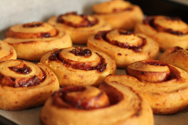 Печенье Творожные Розочки с повидлом