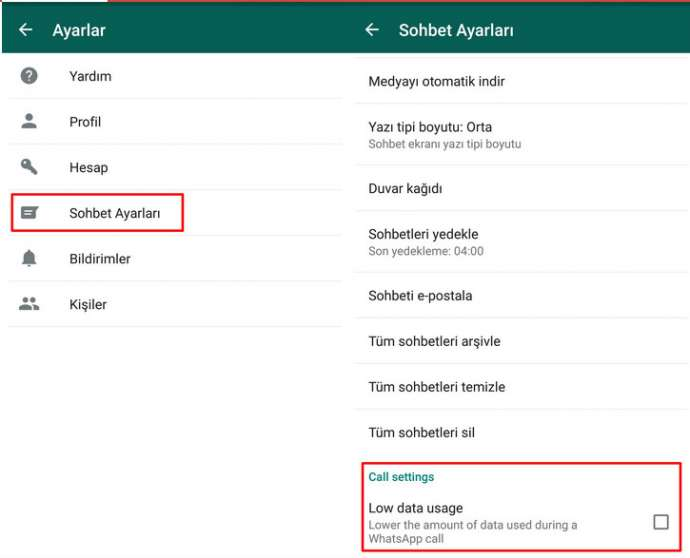 Whatsapp-dan yenilik, MB-dan daha az istifadə ediləcək