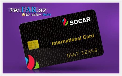 SOCAR danışan kartlar istehsal edib