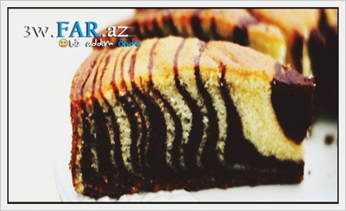 Zebra piroqu resepti...