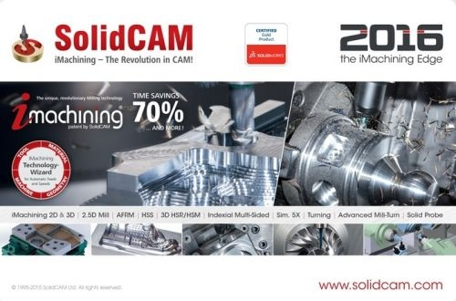 SolidCAM 2016 SP2 HF2 (64-Bit)