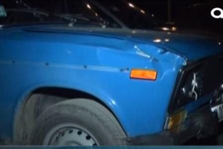 Maşın vuran piyada xəstəxanaya gedərkən yolda öldü - VİDEO
