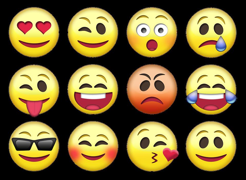 картинки эмоции и смайлы