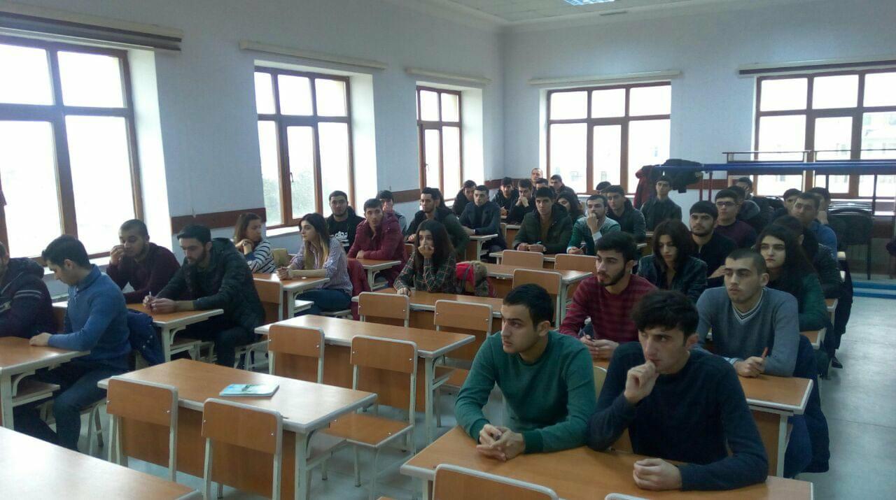 Bakı Texniki Kollecində 2017-2018-ci il  payız imtahan sessiyasına başlanıldı.