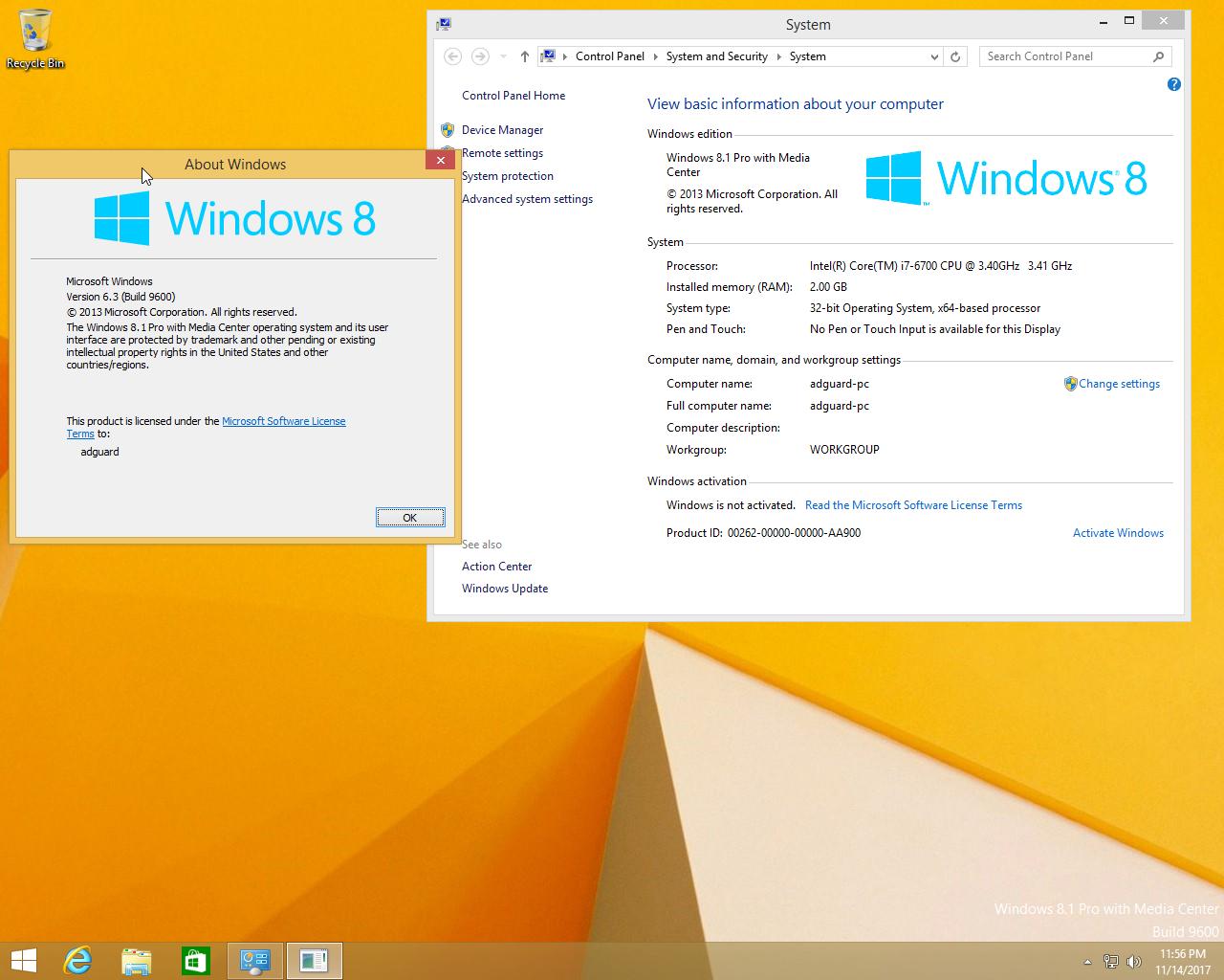 Windows 8.1 Eng-Rus x86/x64 AIO v6.3.9600.18856
