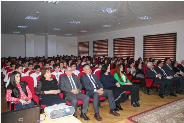 Nizami rayonunda ilk dəfə səs verəcək rayon gənclərinin toplantısı keçirilib