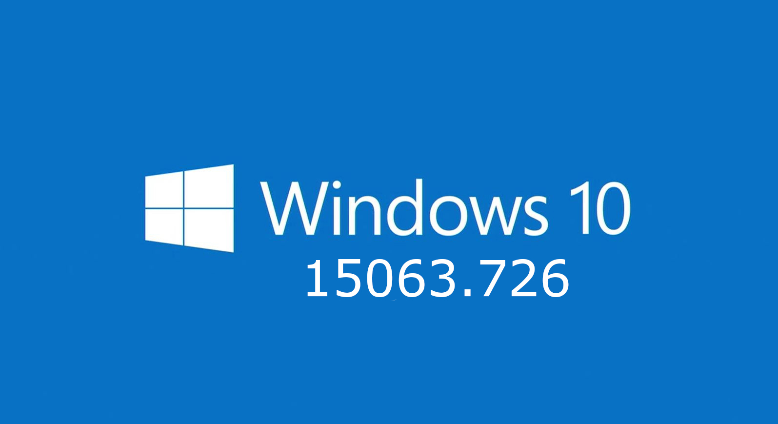Windows 10 15063.726 ENG-RUS - x86-x64