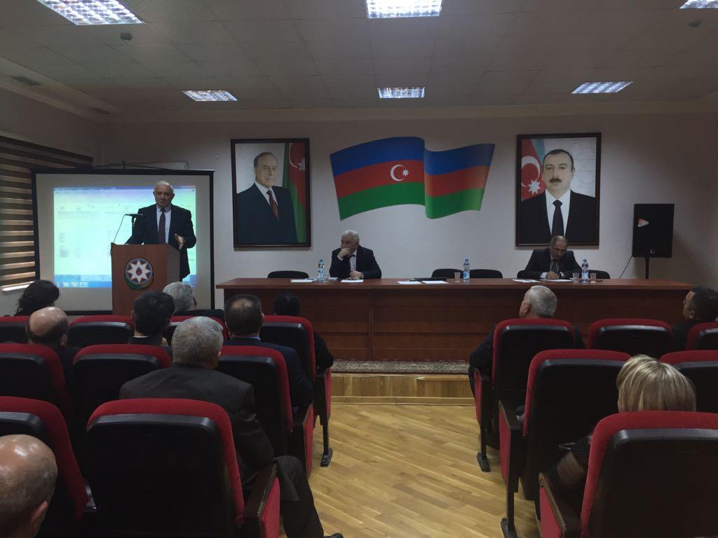 14.03.2018-ci il tarixində  Bakı Texniki Kollecində - Pedaqoji Şuranın iclası keçirildi.