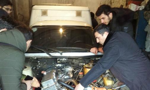 Qrup 64 A - Aztrans servis MMC - Rəhbər: Həmid Hüseynli Səmid oğlu