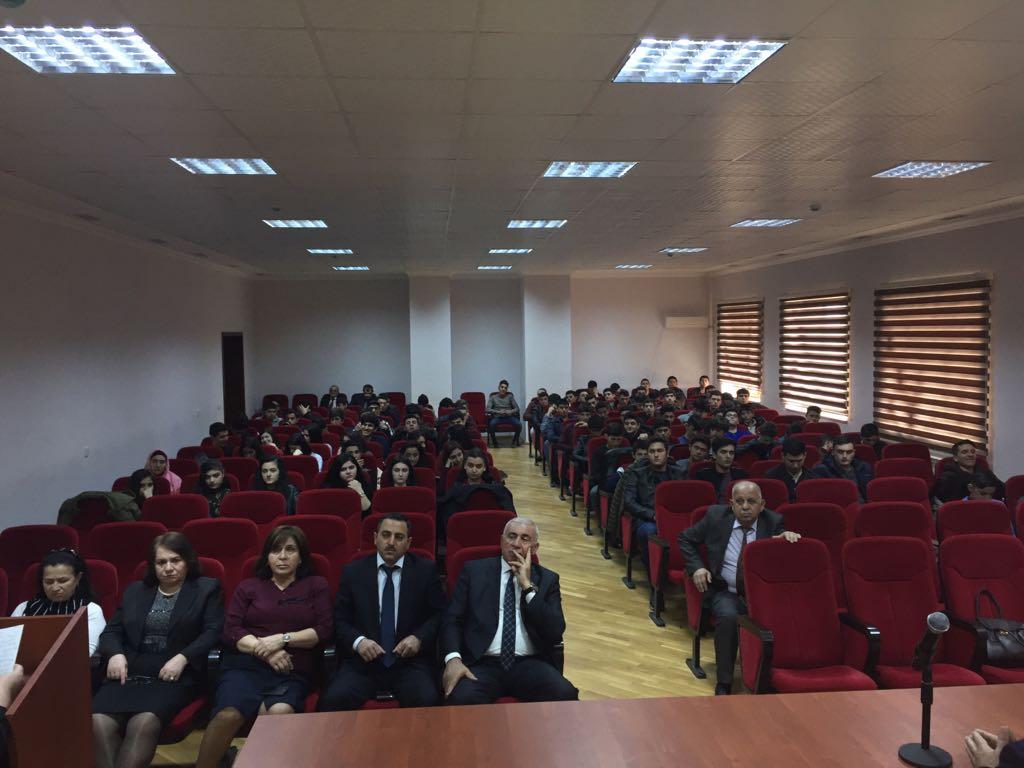31 MART - AZƏRBAYCANLILARIN SOYQIRIMI GÜNÜ-nə həsr olunmuş tədbir keçirildi
