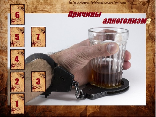"""Расклад """"Причины алкоголизма"""" - Тридевятое Царство"""
