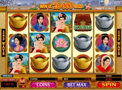 Игровые автоматы на азиатскую тему