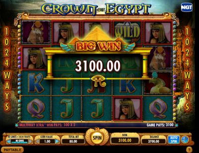Египетские игры в казино Вулкан