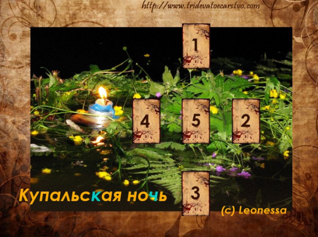 Расклад « Купальская ночь» - Тридевятое Царство