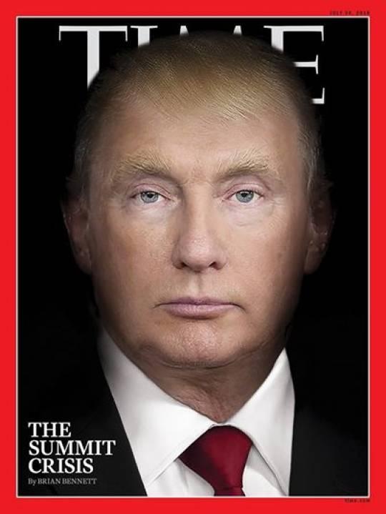 Tramp simasını itirərək getdikcə Putinə oxşayır -
