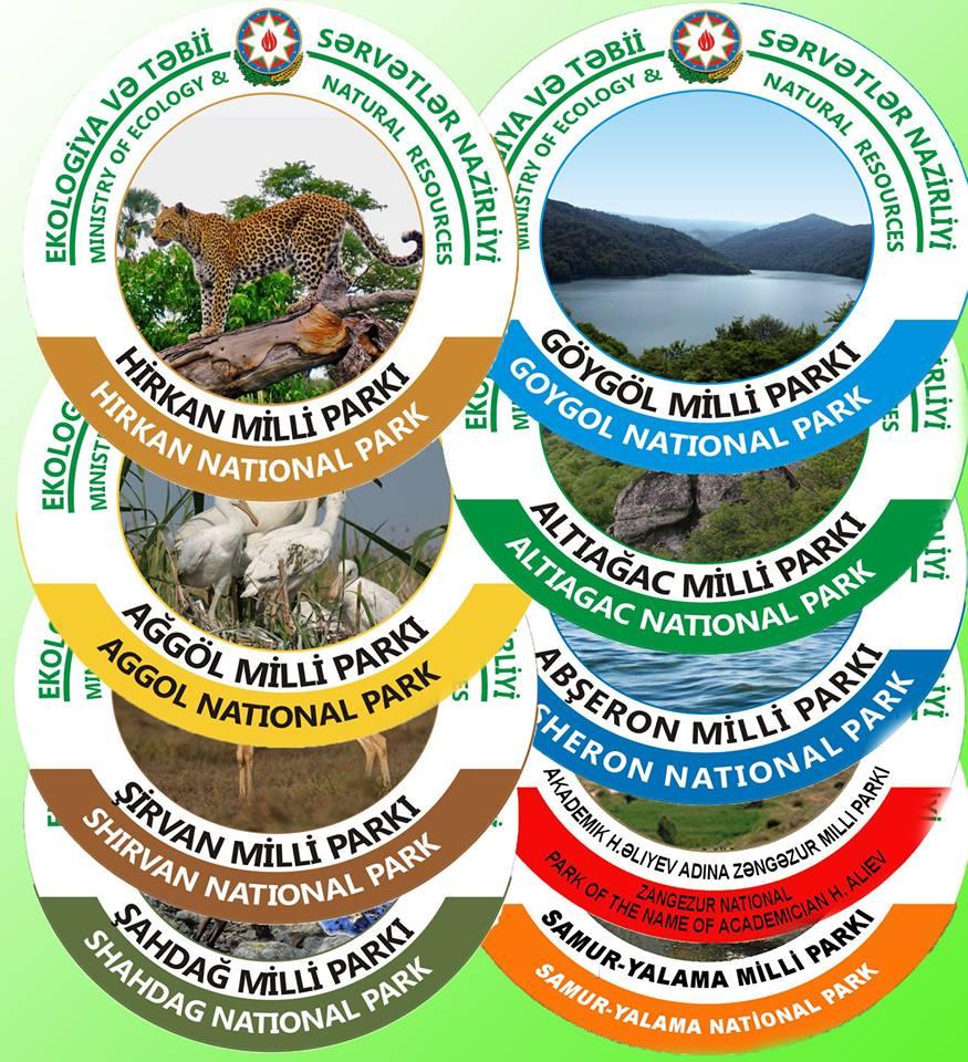 Milli parklar ekoturizm üçün əlverişli təbiət əraziləridir