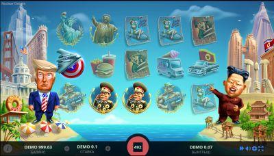 Игровой автомат про ядерные дебаты